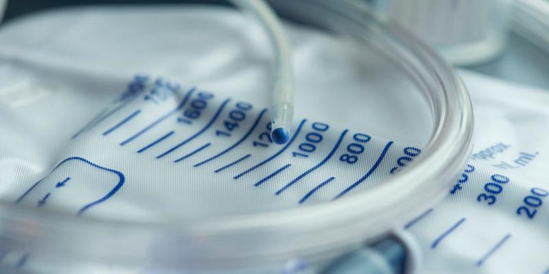 Urologie-Einlauf-Behaelter