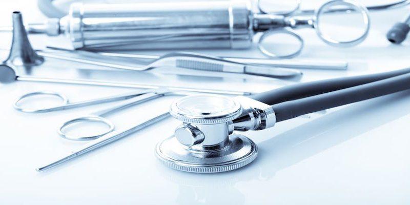 Hals-Nasen-Ohren-Heilkunde-Werkzeuge